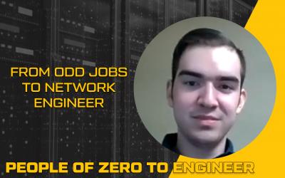 From Odd Jobs to Network Engineer   Robert Buenrosto
